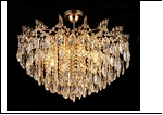 """Люстра """"хрусталь 8"""" .. светильник потолочный 5998/8E FGD E27 650*530"""
