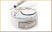 ТВ STK-103 кабель Delink (бел.) (жила-1.02 медь, влагозащ. плен, фольга-алюм, опл.-0.12х64-алюм.)(100м)