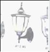 Св.улич. наст.(вверх) черн. золото Е27 VIVID-LIGHT . . ... светильник A112-WU BG Садово-парковый