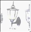 Св.улич. наст.(вверх) черный Е27 VIVID-LIGHT . . ... светильник A112-WU BK Садово-парковый