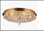 """Люстра """"зеркальная D=500"""" LED-White светильник потолочный 45628/6 FGD E14 55*24"""