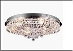 """Люстра """"зеркальная 6""""D=500  LED-White светильник потолочный 45629/6 CR E14 55*22"""