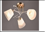 """Люстра """"рожки разн. 3"""" .. светильник потолочный 5700/3C (6) WT+FGD E27 530*240"""