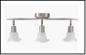 Спот 3-рожк. Е14 светильник ВМ362 Светильник потолочный E14*3 520x110x90mm 10шт