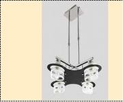 """Люстра """"рожки модерн 4"""" .. светильник потолочный 6911/4 CR (2)"""