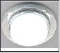 СТ пл.стекло GX53 прозрачный-хром круг  G8077 CH хром/прозрачный Ambrella
