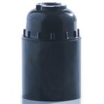 Патрон карболитовый подвесной, Е27, черный Пкб27-04-К01 IEK/КЭАЗ (контакты латунь) (1/50/200)