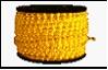 Дюралайт LED   2,0Вт желтый круг 36LED/м 13мм 100м (кратность резки 2м)