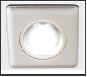 СТ пл.металл G5.3 Серебро квадрат светильник Светильник P2350 SL Ambrella