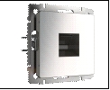 Веркель глян/никель Роз. комп. RJ45 Werkel Werkel _ () / WL02 10 шт./уп