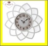 """5046-100 (5) Часы настенные круг с лепестками d=49,5см, корпус белый """"Классика"""""""