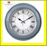 """5232-107 (5) Часы настенные круг d=45,5см, корпус серый """"Классика римская"""""""